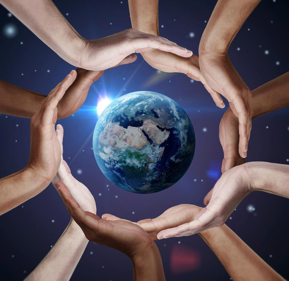 reiki hands around the world