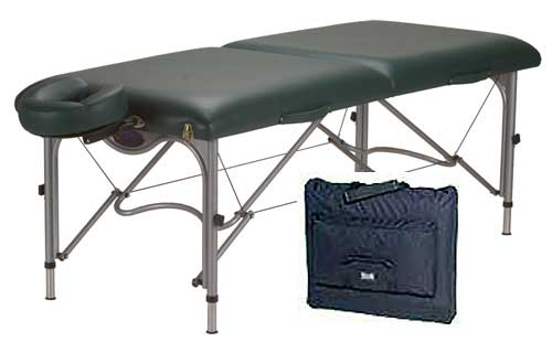 reiki table and case